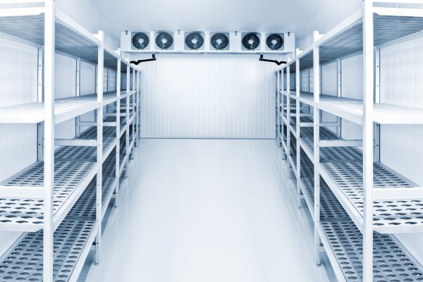 refrigeration chamber for food storage